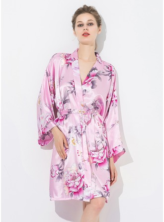 Bride Bridesmaid Mom Floral Robes