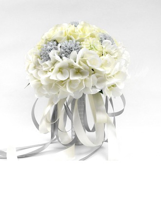 Pretty Artificial Silk Bridal Bouquets -