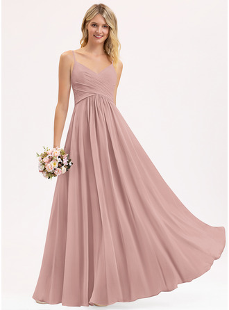 Chiffon Prom Dresses With Ruffle