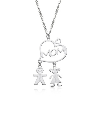 Custom Name Name Necklace With Heart -