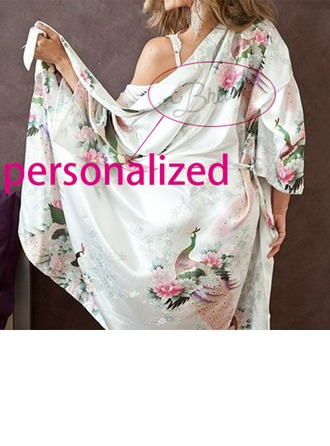 Personalized Nylon Bridal/Feminine  Robe  (12 letters or less)