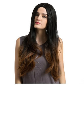 Loose Wavy Synthetic Hair Capless Wigs 350g