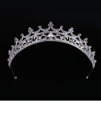 Filles Mode Strass/Alliage Tiaras