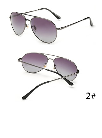 UV400/Polariseret Chic Aviator Solbriller