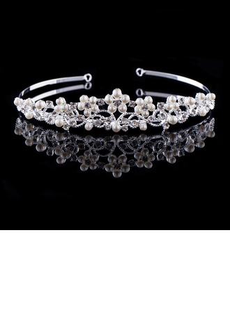 Unique Rhinestone/Alloy/Imitation Pearls Tiaras