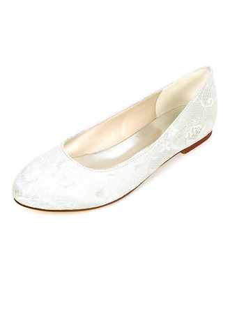 Women's Silk Like Satin Flat Heel Flats