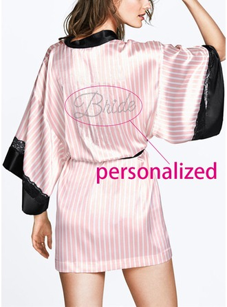 Personalized Cotton Feminine Robe