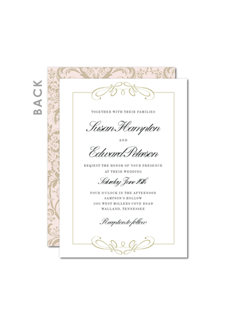Royal Promise Wedding Cards