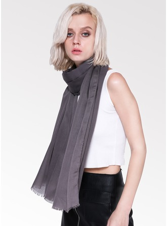 Solid Color Light Weight/Oversized Cotton Scarf