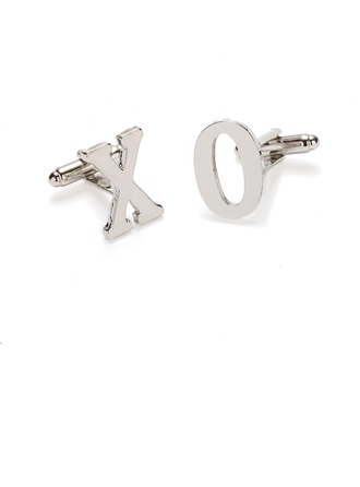 Classic Alloy Cufflinks (Set of pairs)