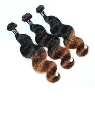 7A Primary cutting Body Wavy Mid-Length Long Human Hair Hair Weaves/Weft Hair Extensions (Sold in a single piece) 100g