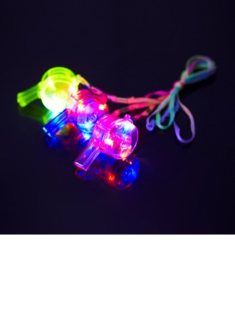 Colorful Plastic LED Whistle