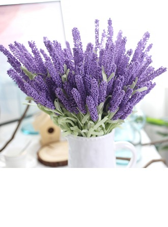 20'' Lavender Plastic EVA Bouquets (Set of 4)