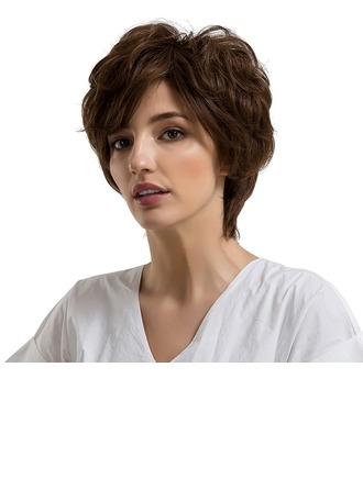Water Wave Synthetic Hair Human Hair Wigs