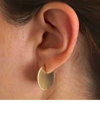 Ladies' Simple 925 Sterling Silver Earrings For Bridesmaid/For Friends/For Her