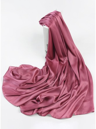 Solid Color Light Weight/Oversized Polyester Scarf