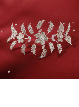 Ladies Beautiful Rhinestone/Zircon Headbands With Rhinestone (Sold in single piece)