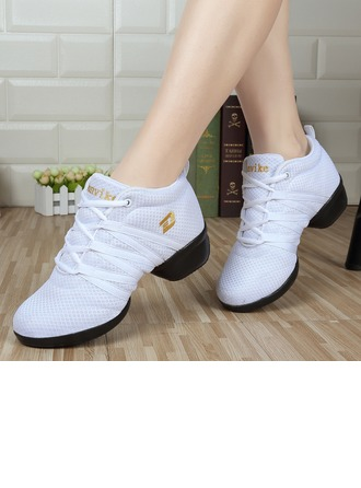 Women's Mesh Sneakers Sneakers Dance Shoes