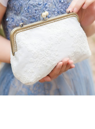 Elegant Lace Bridal Purse