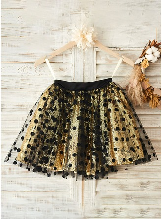 Flower Girl  Lovely Tutu Skirt / Short Skirt With Sequin and Dots