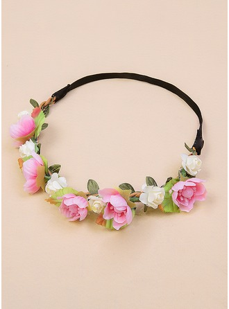 Silk Flower Flower Headband