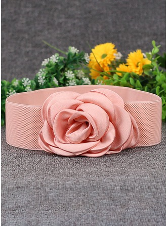 Fashional Chiffon Belt With Flower
