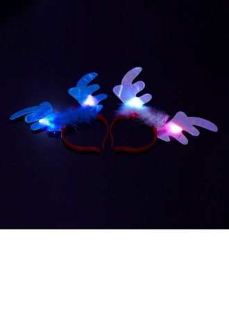 Deer horn hair band LED Lights