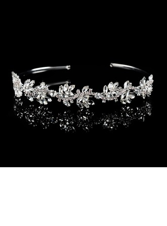 Ladies Gorgeous Rhinestone/Alloy Tiaras