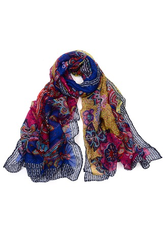 Floral Neck/Light Weight Scarf