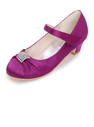 Closed Toe Pumps With Beading
