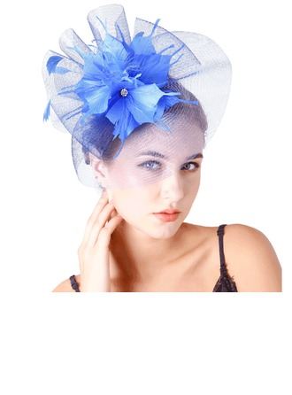 Ladies' Pretty Feather/Net Yarn With Feather Fascinators/Tea Party Hats