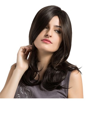 Body Wavy Synthetic Hair Capless Wigs 290g