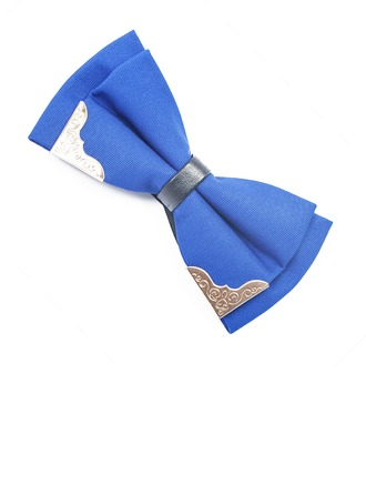 Couleur unie Satiné Bow Tie