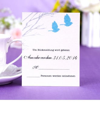 Personalized Formal Style Response Cards