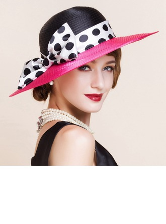 Dames Mode Polyester avec Bowknot Chapeau melon / Chapeau cloche/Chapeaux Tea Party