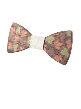 Classic Wood Bow Tie