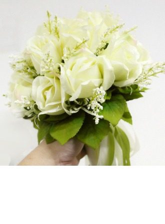 Attractive Artificial Silk Bridal Bouquets -