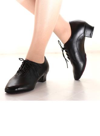 Women's Leatherette Heels Practice Dance Shoes