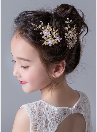 Alloy With Rhinestones Hairpins (Set of 3)