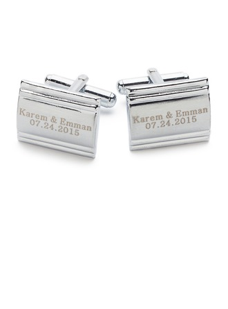 Personalized Copper Cufflinks
