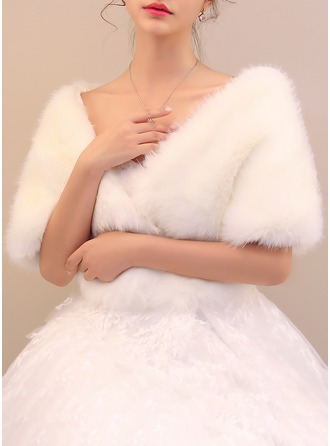 Faux Fur Special Occasion Wrap