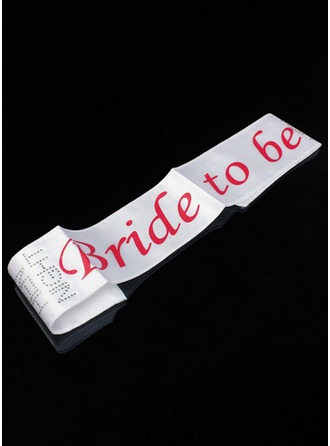 Bride To Be Satin Hen Party Sash