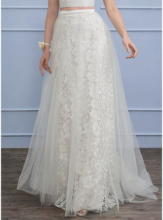 Separates Sweep Train Tulle Lace Wedding Dress