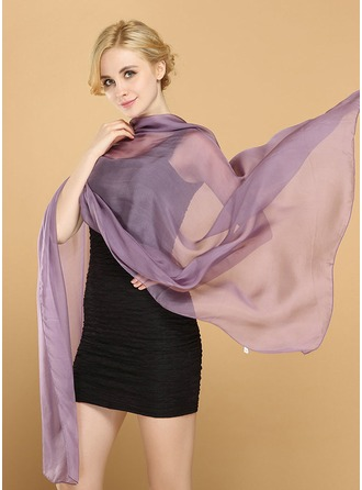 Solid Color Light Weight/fashion/simple Mulberry silk Scarf