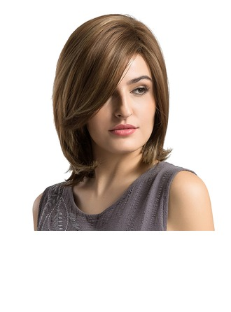 Straight Synthetic Hair Capless Wigs 280g