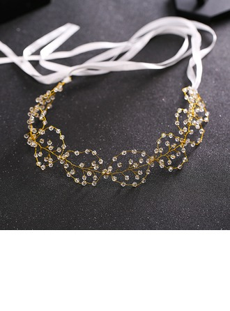 Ladies Classic Crystal/Alloy Headbands