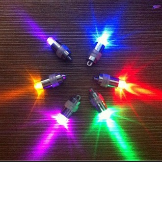 Colorful Glittering Silver Plated LED Lights