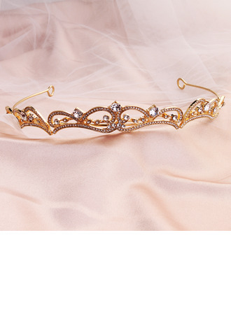 Ladies Unique Alloy Tiaras With Rhinestone