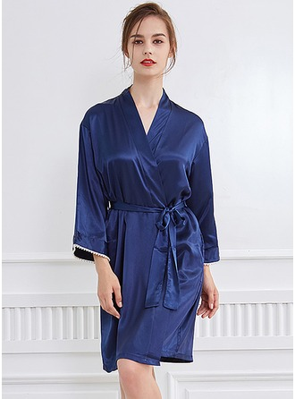 Bride Silk Satin Robes
