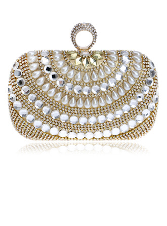 Gorgeous/Charming/Classical/Refined Crystal/ Rhinestone/Imitation Pearl Clutches/Evening Bags